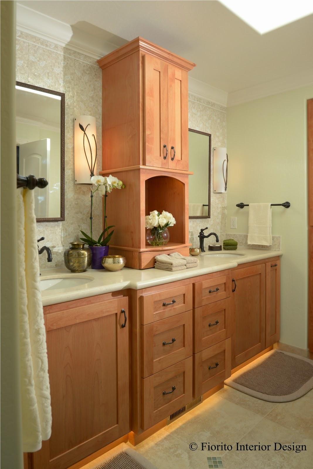 Fiorito interior design sconces your second and third for Master bath lighting