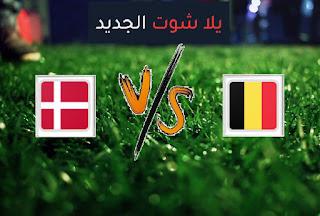 نتيجة مباراة الدنمارك وبلجيكا اليوم الخميس 17-06-2021 يورو 2020