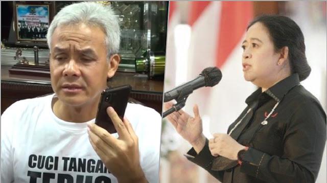 Puan Sindir 'Pemimpin Medsos', Politikus Demokrat: Mungkinkah Ganjar yang Dimaksud?