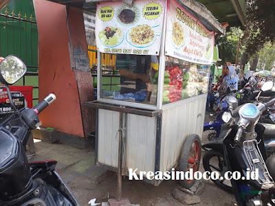 Jasa Pembuatan Gerobak Rujak Bahan Aluminium Daerah Jabodetabek dan Bandung