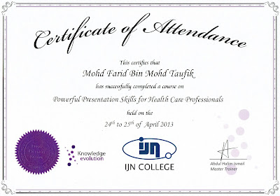 Cvt Mohd Farid Certificate No 63 Malaysia Book Of Records Most Number Of Certificates Received By An Individual Record Breaking Attempt Application In Progress