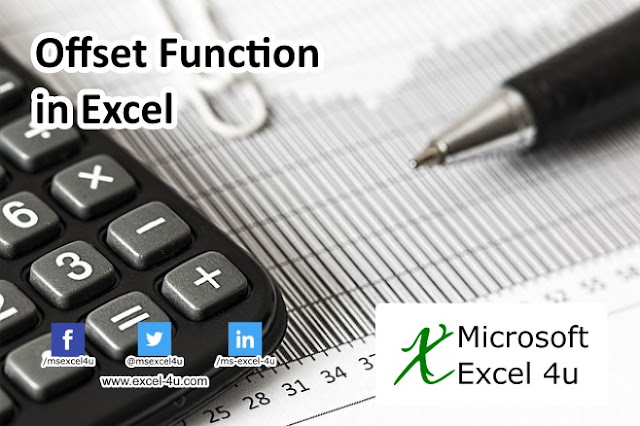 Offset Function in Excel