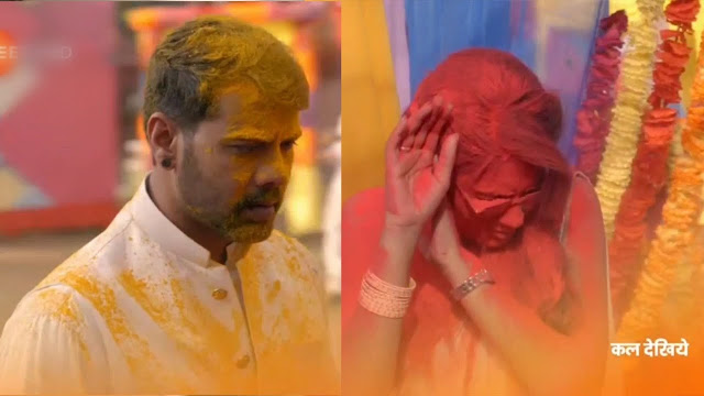 Face-Off : Abhi and Pragya's face off this Holi post long time separation in Kumkum Bhagya