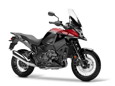 Honda VFR1200X Red adventure hd