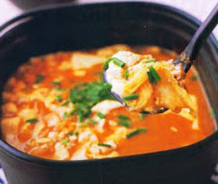 Soup Sawi Tofu Pedas