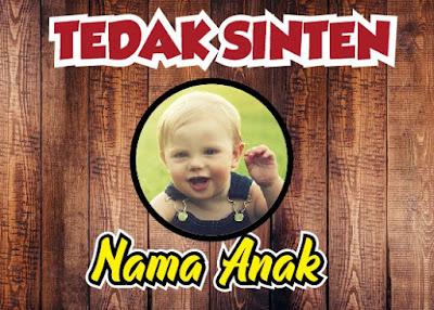 Banner Tedak Sinten