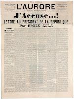 Zola defending Dreyfus