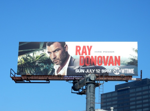 Ray Donovan season 3 Showtime billboard