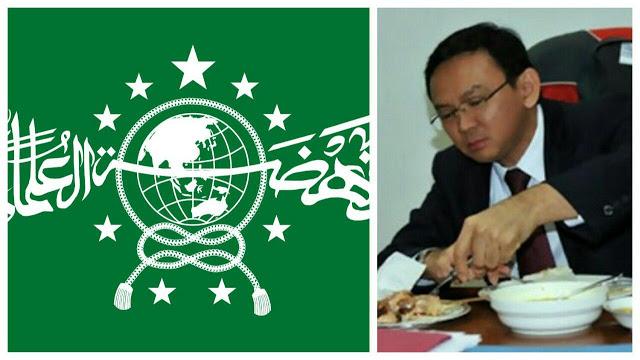Lantaran Gelar 'Sunan' Ahok, GP Ansor Ditantang Tambah Satu Bintang di Logo NU, Berani?