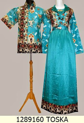 Dress Batik Muslim Untuk Pesta Couple Keluarga