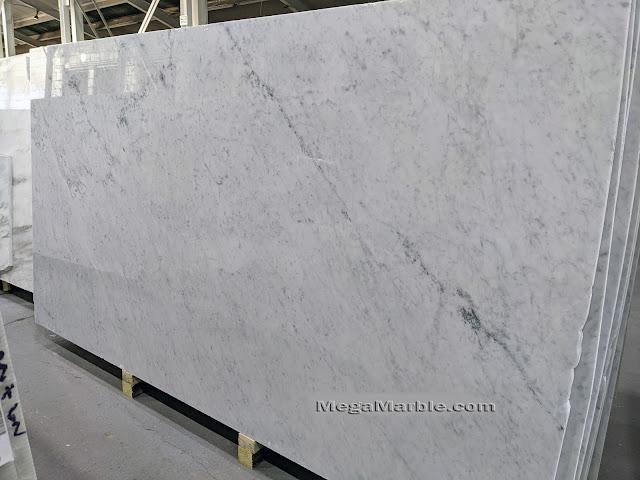 Carrara White Marble Slabs