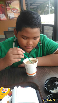 Breakfast Ringkas Di Burger King Skudai