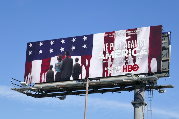 Plot Against America HBO series billboard
