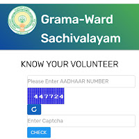 If you and your family members are from Andhra Pradesh how to know your Secretariat,volunteer and Their details,