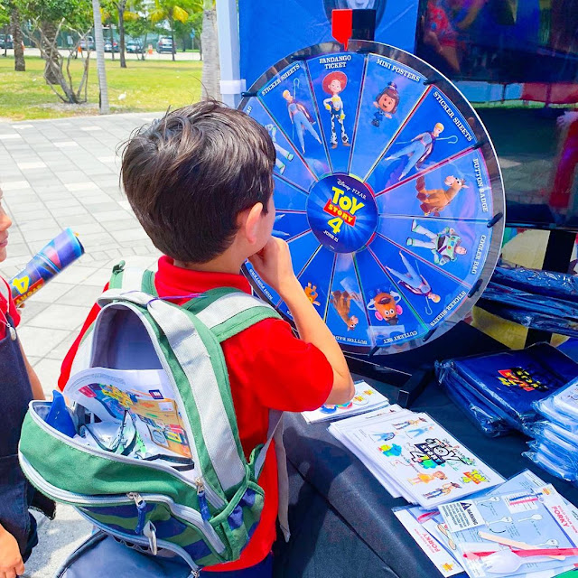 Toy Story 4 Go RVing Prize Wheel