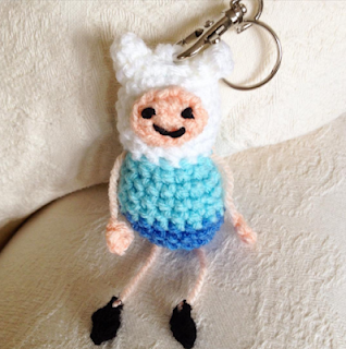 Finn from Adventure time crochet pattern