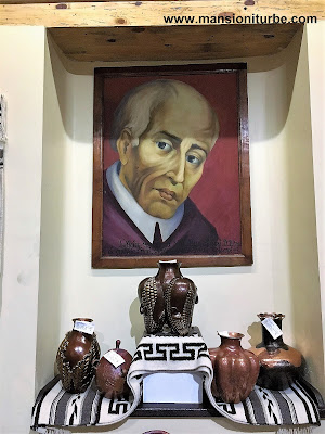 Don Vasco de Quiroga en el Museo Nacional de Cobre, en Santa Clara del Cobre Michoacán