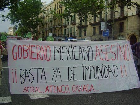 Nuevas leyes en México buscan criminalizar movimientos sociales