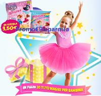 Logo Magiki Ballerine : vinci gratis 20 Tutù Magiki per bambina