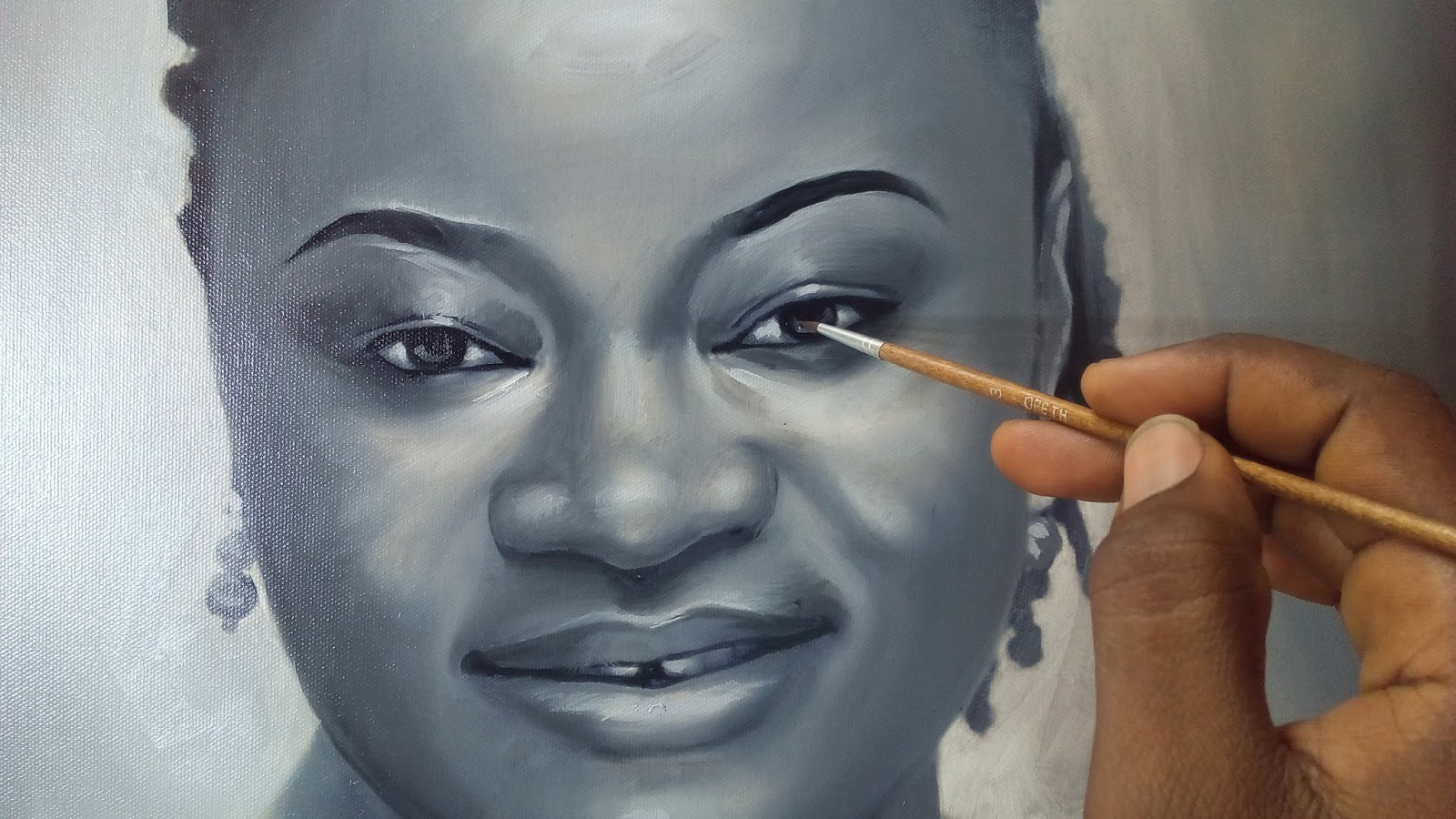 Portrait drawing artist in nigeria ayeola ayodeji is a graduate of the popular yaba college of technology