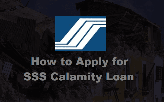 How to Apply for SSS Calamity Loan for 2020