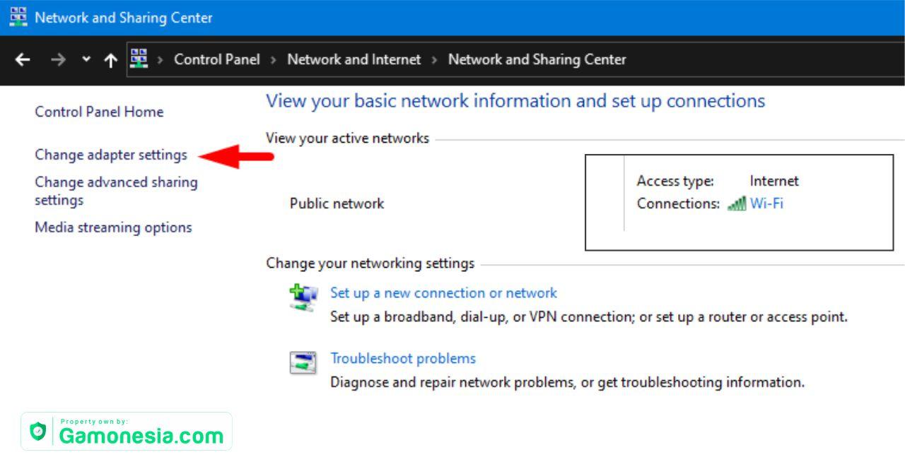 cara memperbaiki wifi no internet secured