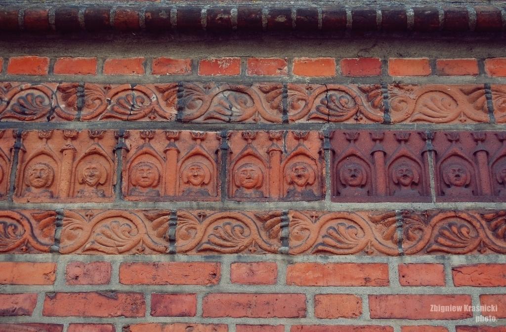 Mozaika na orneckiej farze