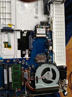 bongkar laptop samsung np370
