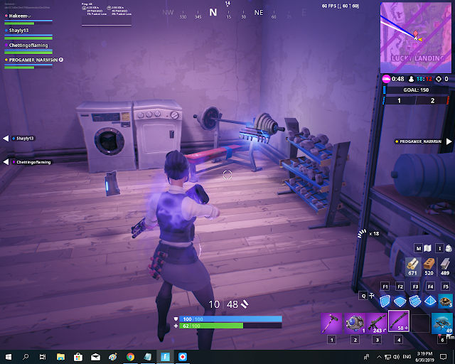 Found at a location hidden within Loading Screen #8 FORTBYTE Mission #97