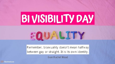 19 [Best] Bi Visibility Day 2020: Quotes, Facts, Images, Poster, Pictures