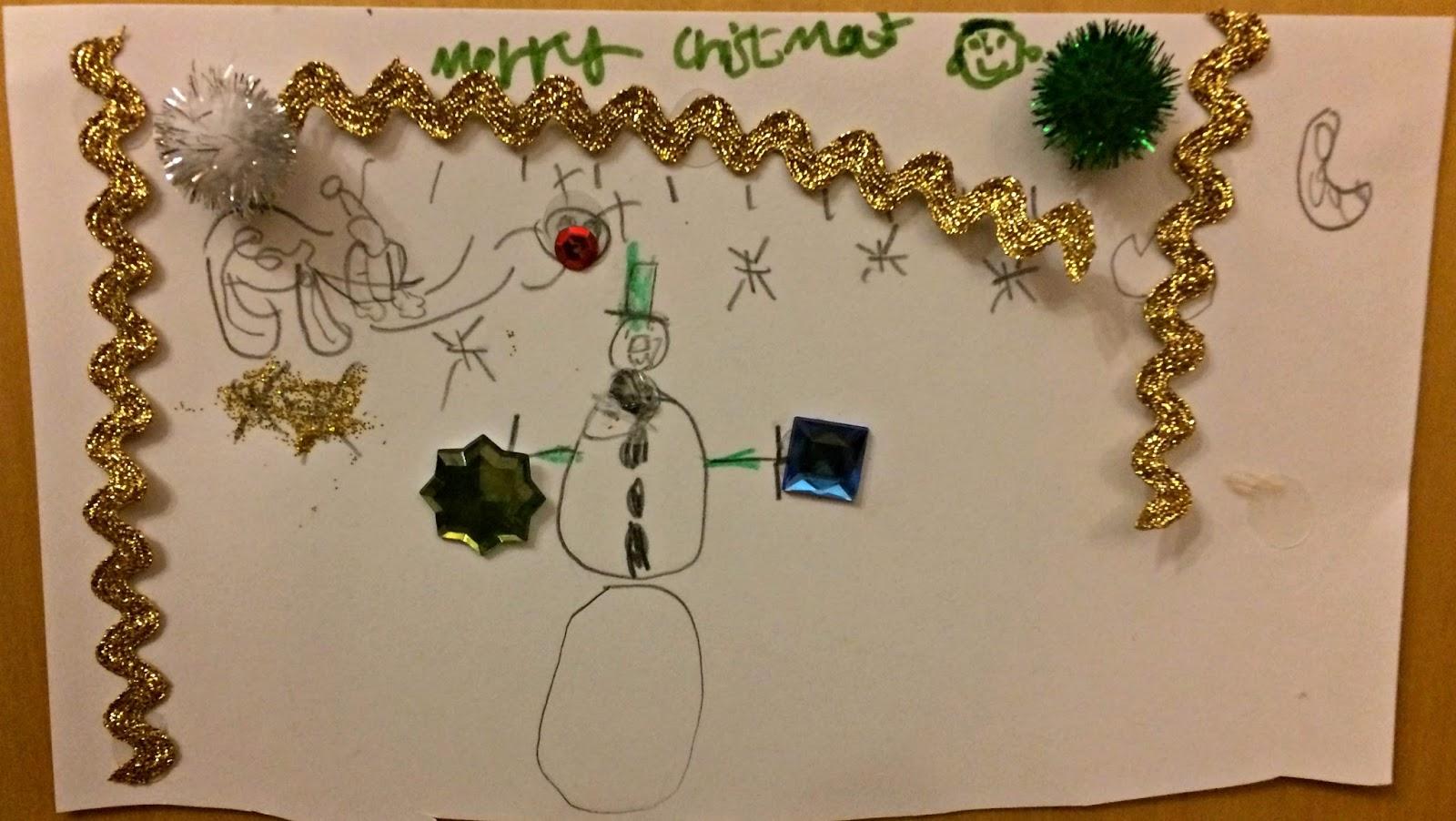 Ieuan's Christmas card