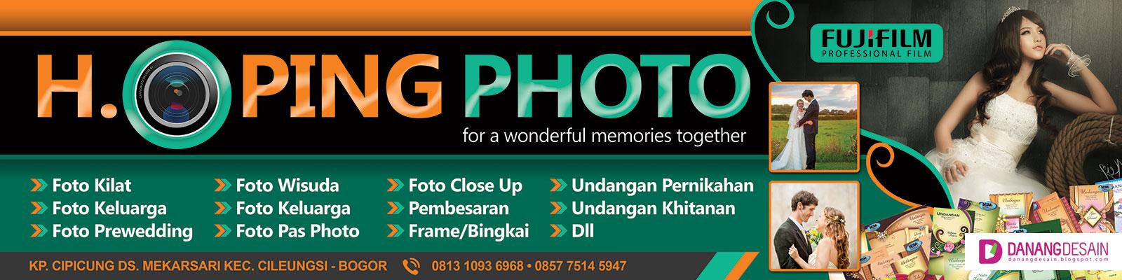 Contoh Desain Banner atau Spanduk Photo Studio - Contoh ...