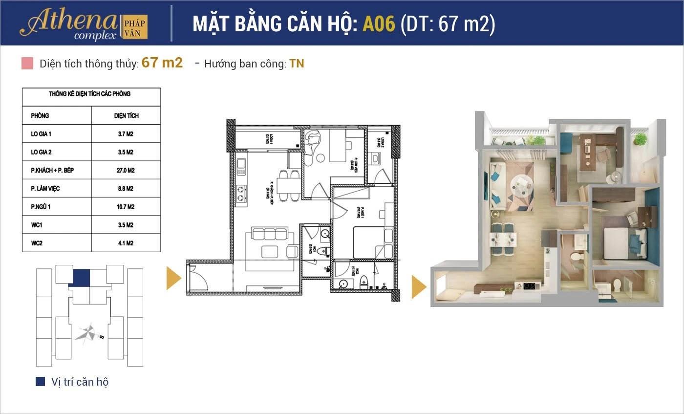 can-ho-athena-phap-van-67m2