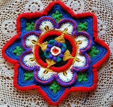 Lindevrouwsweb Mandala Madness Cal Deel 2