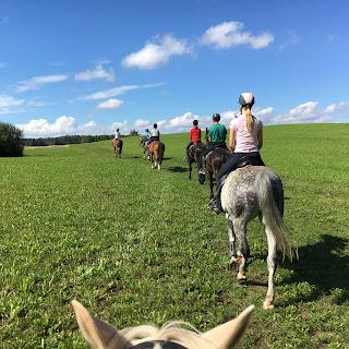 Galiny, Puola, ratsastusmatka, Horsexplore