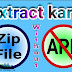 Zip file extract kaise kare without app.