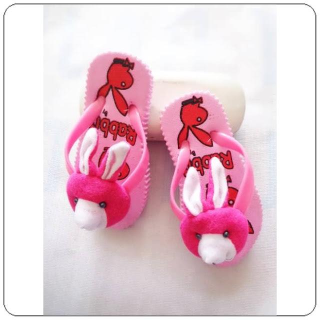 Sandal Jepit Baby | Sandal Baby wanita |  Sandal Jepit Rabbit Baby Murah dan Lucu