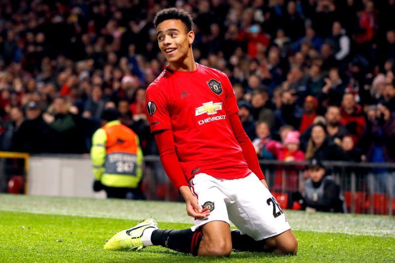 Manchester United academy graduate Mason Greenwood