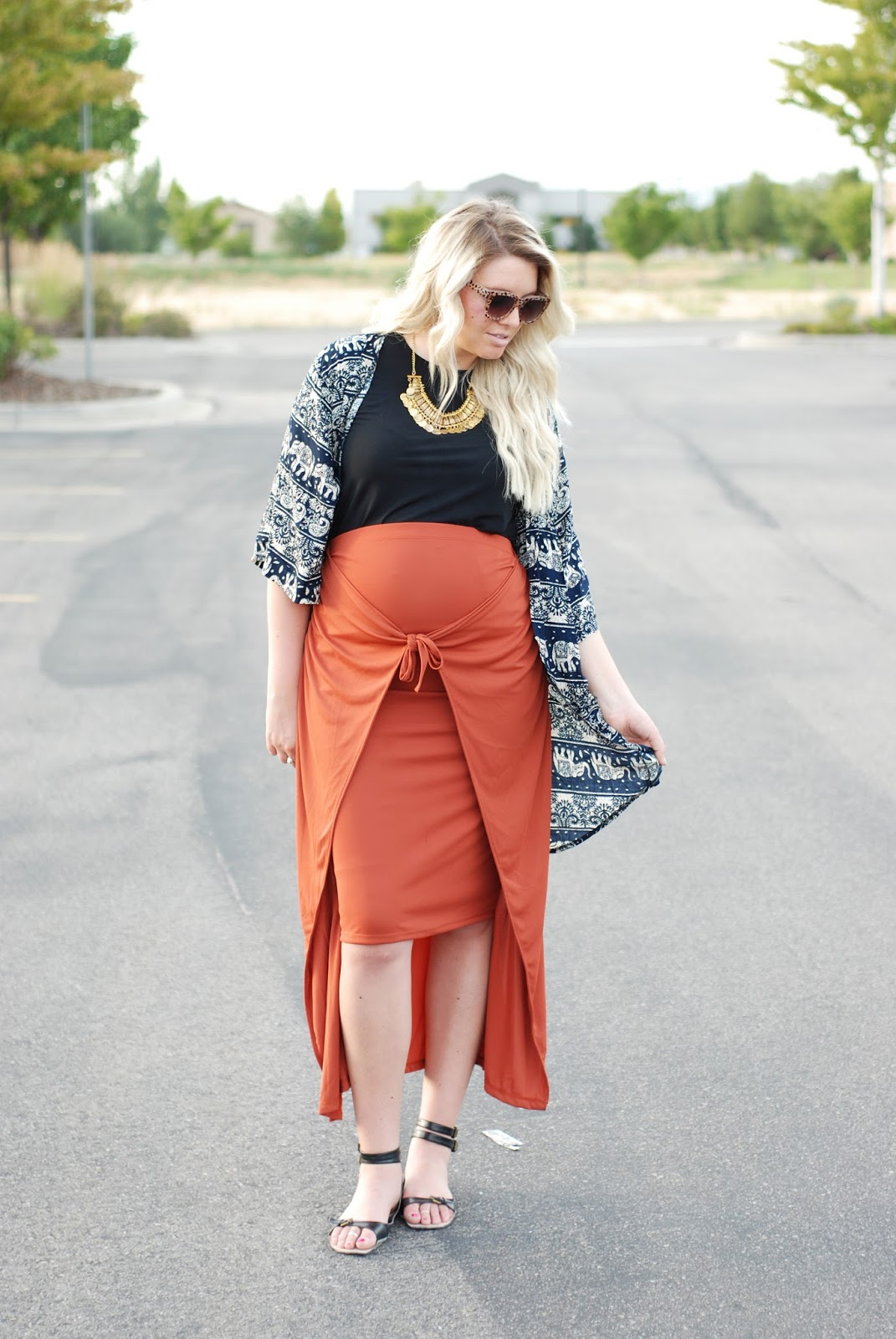 Choies, ASOS, Maternity Outfit