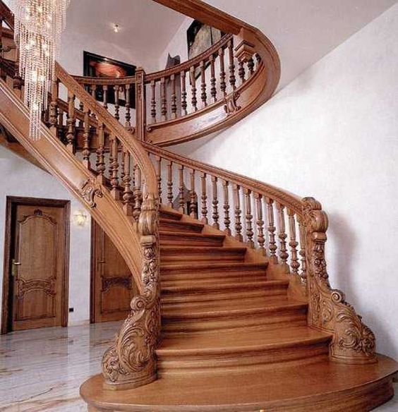 Stair Steps Ideas: IMPRESSIVE INTERIOR STAIRCASES & NEWEL POST DESIGNS