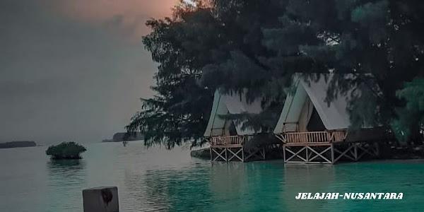 paket camping pulau dholpin sepa dan perak