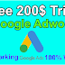 Google adword Free 200$ Trick to Run Free Ads 2020 Latest Trick
