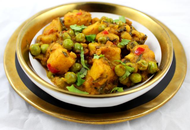 Potato and Pea Curry