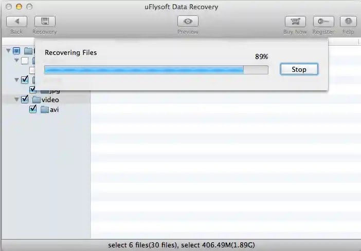 uFlysoft Data Recovery