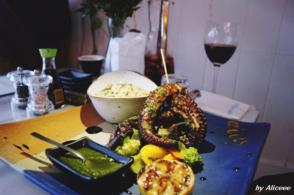 caracatita-Cipru-Ammos-Restaurant