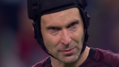 Peter Cech llorando final de Europa League 2019