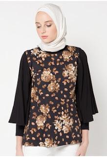 Baju Kantor Batik Muslim Remaja