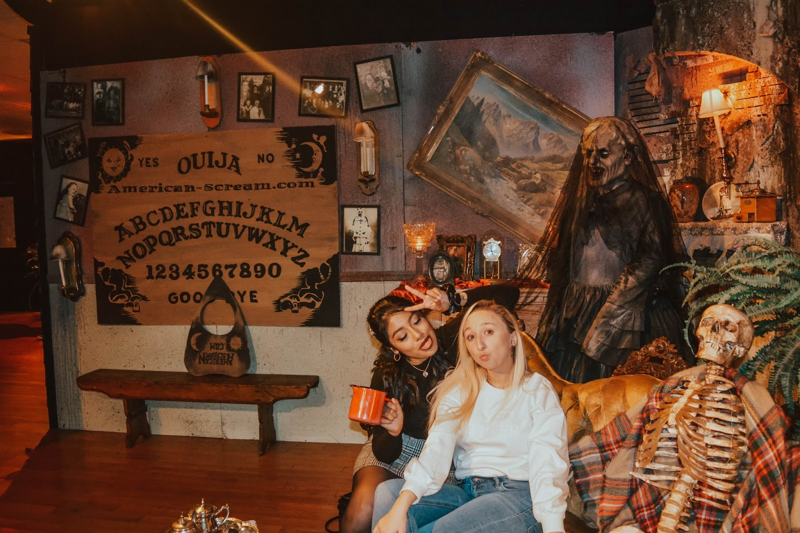 Halloween Pop-Up Museum