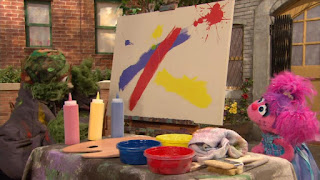 Abby Cadabby, Oscar the Grouch, Sesame Street Episode 4316 Finishing the Splat season 43