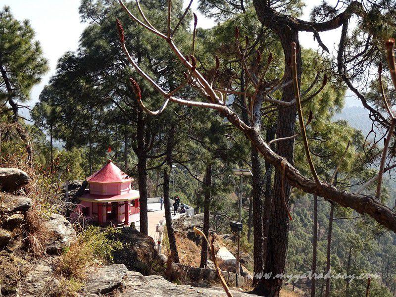 Kasar Devi Temple shrine, Uttarakhand